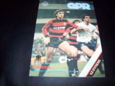 Queens Park Rangers v Everton, 1983/84